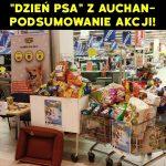 """Zbiórka karmy w ramach """"DNIA PSA Z AUCHAN""""! [RELACJA]"""