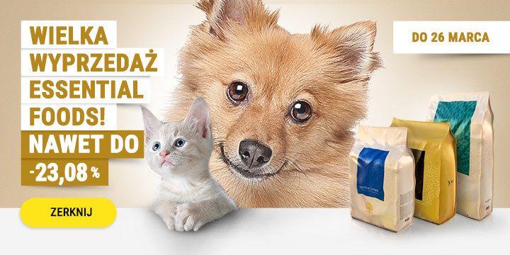 Wielka wyprzedaż produktów marki Essential Food!