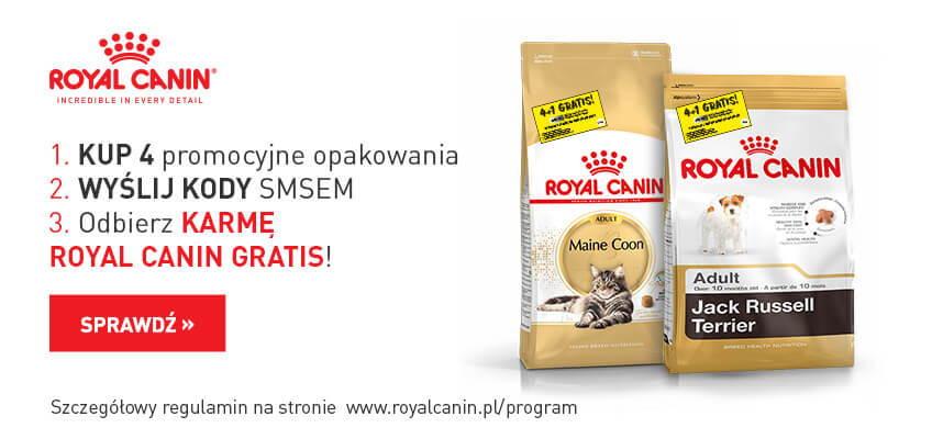 Royal Canin 4+1 Gratis!