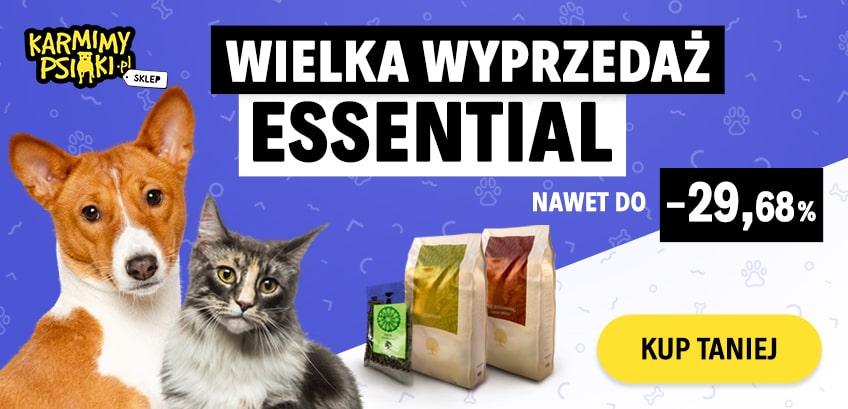Wyprzedaż karm marki Essential