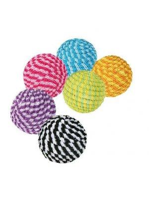 Piłka kolorowa ze sznurka