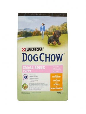 Purina Dog Chow Small Breed Puppy Kurczak 7,5kg