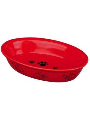 Miska ceramiczna w rybki 200ml (15x10cm)