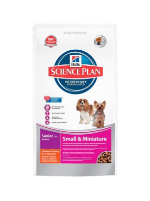Hill's Science Plan Senior 11+ Active Longevity Small & Mini Kurczak 1,5kg