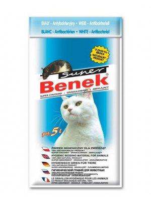 Super Benek - Żwirek Antybakteryjny 5L