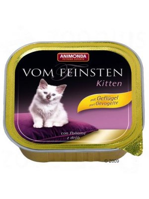 ANIMONDA VOM FEINSTEN CHICKEN KITTEN 100g