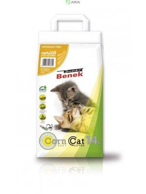 Super Benek Corn Cat - żwirek kukurydziany zbrylający 14L