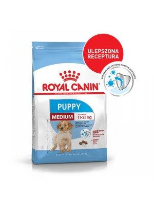 ROYAL CANIN Medium Puppy 15kg karma sucha dla szczeniąt od 2 do 12 miesiąca, ras średnich