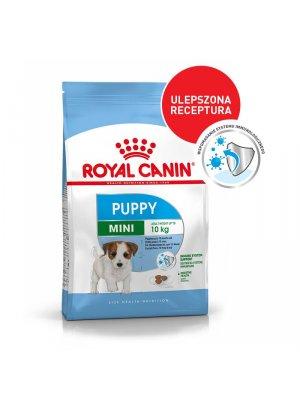 ROYAL CANIN Mini Puppy 4kg karma sucha dla szczeniąt od 2 do 10 miesiąca życia, ras małych