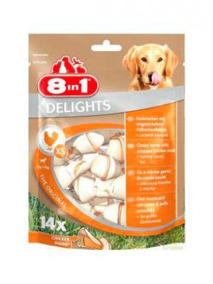 8in1 Delights Bones XS 14 szt.