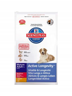 Hill's Science Plan Mature 7+ Active Longevity Kurczak 12kg
