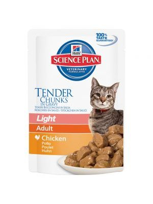 HILL'S SCIENCE PLAN ADULT LIGHT 85g