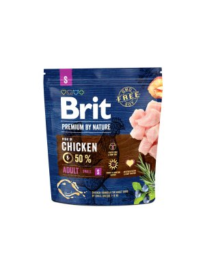 Brit Premium By Nature Adult S 1 kg