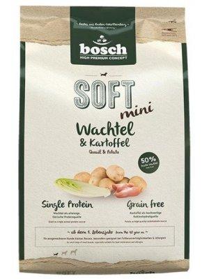 Bosch HPC+ Soft Mini Przepiórka i Ziemniak 2,5kg