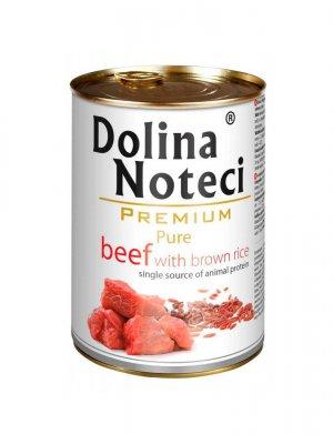Dolina Noteci Premium Pure Wołowina z Ryżem 400g