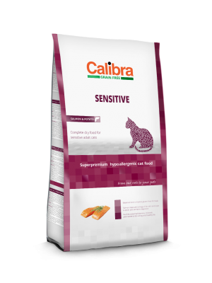 Calibra Cat Sensitive Salmon & Potato 2 Kg
