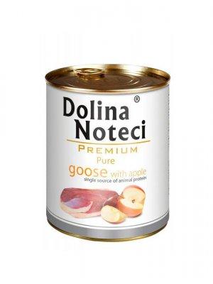 Dolina Noteci Premium Pure Gęś z Jabłkiem 400g