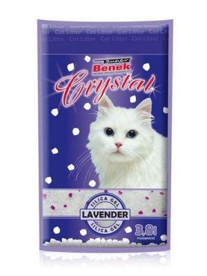 Super Benek Crystal Lawenda- Zwirek Silikonowy 11,4