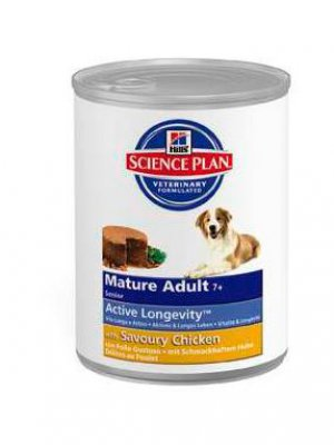 Hill's Science Plan Mature 7+ Kurczak 370 g