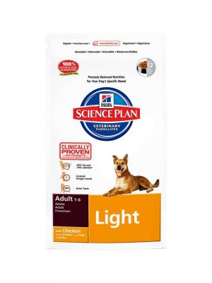 Hill's Science Plan Adult Light Kurczak 1kg