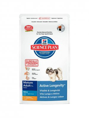 Hill's Science Plan Mature 7+ Active Longevity Mini Kurczak 1kg