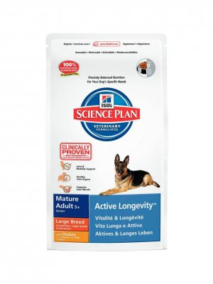 Hill's Science Plan Mature 5+ Active Longevity Large Kurczak 12kg