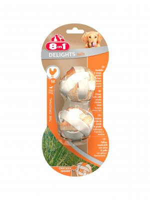 8in1 Delights Balls M 2szt.