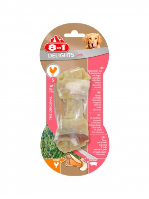 8in1 Pork Delights Bone S 1szt