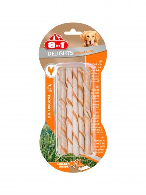8in1 Delights Twisted Sticks 10szt
