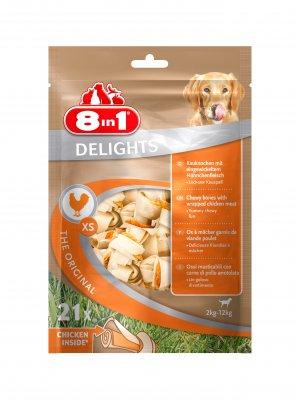 8in1 Delights Bones XS 21szt.