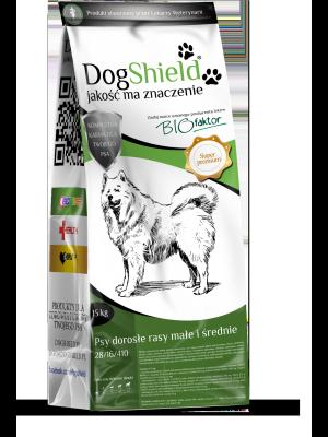 Dogshield Psy Dorosłe Rasy Małe i Średnie 15KG