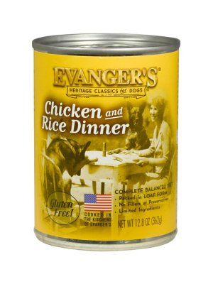 EVANGER'S Classic Kurczak z Ryżem 362g