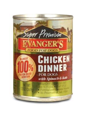 EVANGER'S Gold Line Kurczak 369g