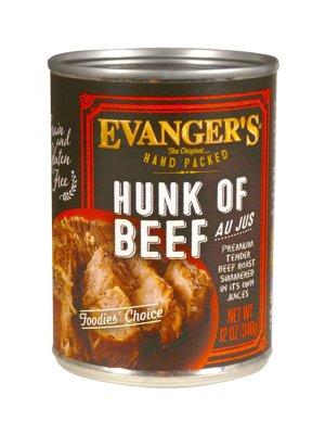 EVANGER'S Hand-Packed Wołowina w Sosie Własnym 340g
