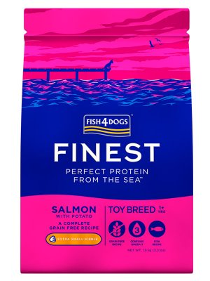 Fish4Dogs Finest Toy Breed (Miniaturowa Rasa) 1,5 kg