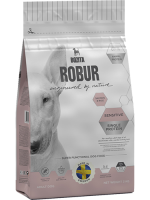 BOZITA Robur Sensitive Single Protein Salmon 3kg