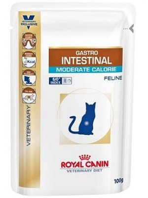 ROYAL CANIN CAT GASTRO INTESTINAL MODERATE CALORIE SASZETKA 100 g
