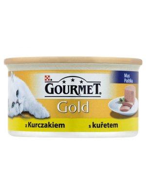 PURINA GOURMET GOLD MUS Z KURCZAKIEM 85g