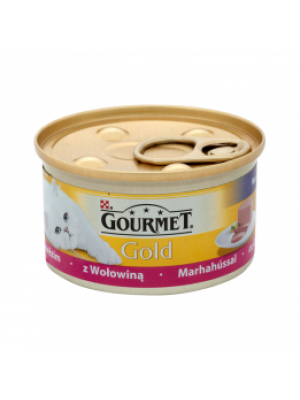 PURINA GOURMET GOLD MIX Z WOŁOWINĄ 85g
