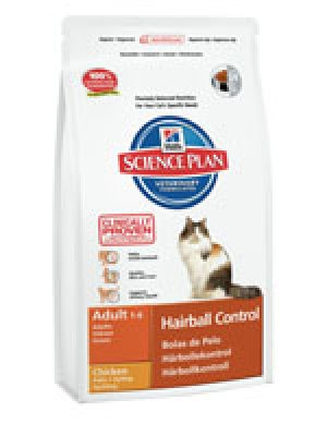 HILL'S SCIENCE PLAN ADULT HAIRBALL CONTROL KURCZAK 5kg