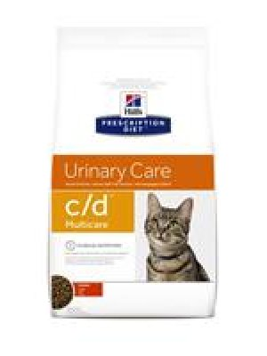 HILL'S PRESCRIPTION DIET C/D MULTICARE FELINE Z KURCZAKIEM 10kg