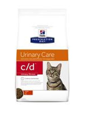HILL'S PRESCRIPTION DIET C/D MULTICARE FELINE URINARY STRESS KURCZAK 8kg