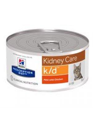 HILL'S PRESCRIPTION DIET K/D PUSZKA 156g