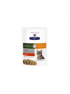 HILL'S PRESCRIPTION DIET METABOLIC+URINARY 85g