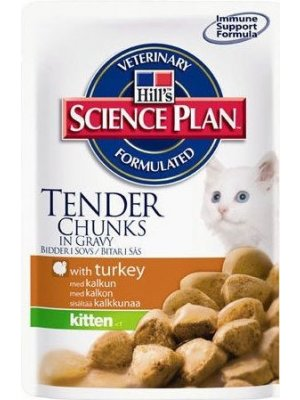 HILL'S SCIENCE PLAN KITTEN INDYK 100g