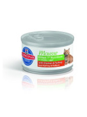 HILL'S SCIENCE PLAN KITTEN MOUSSE KURCZAK+INDYK 85g