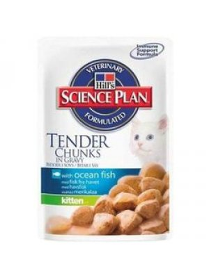 HILL'S SCIENCE PLAN KITTEN RYBA OCEANICZNA 85g