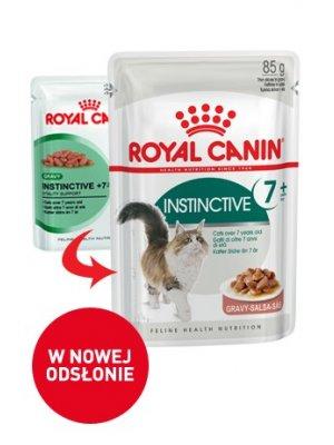 ROYAL CANIN INSTICTIVE +7 w sosie 85g