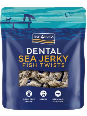 Fish4Dogs Sea Jerky Fish Twists 100 g