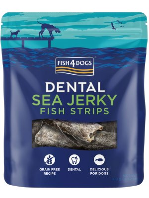 Fish4Dogs Sea Jerky Fish Strips 500g